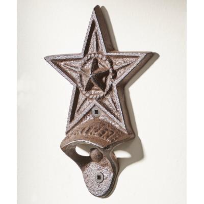 Ouvre bouteille forme d'étoile